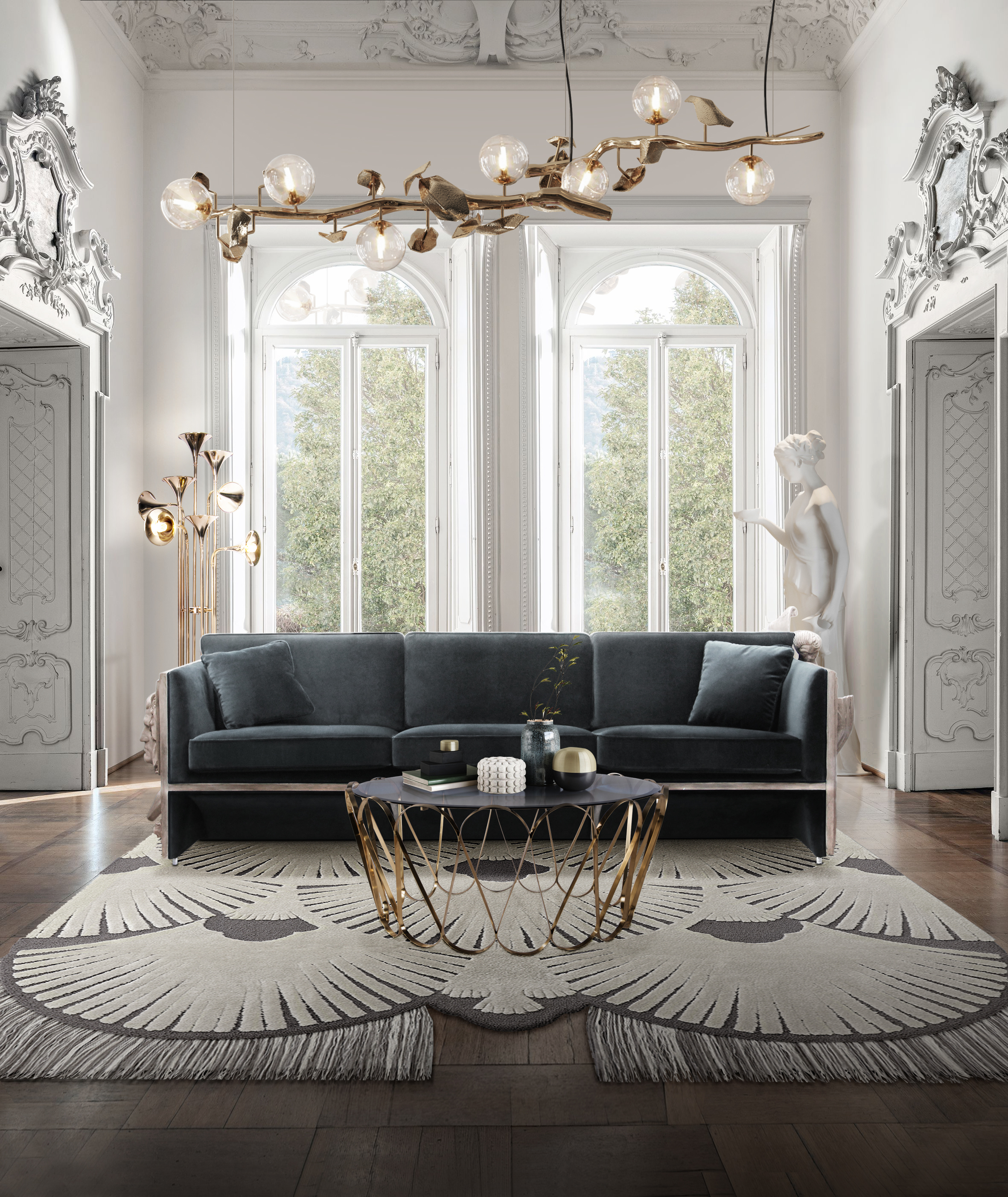 living room ideas Living Room Ideas for You bl versailles luxury sofa