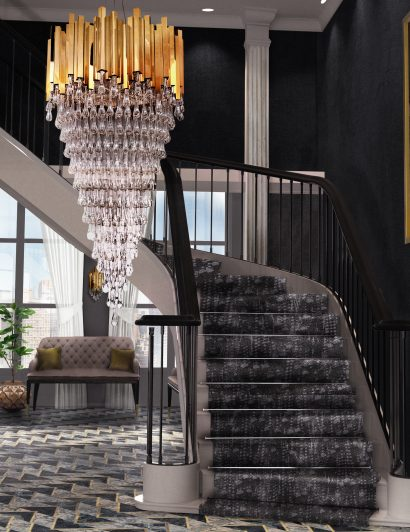 exquisite entryways Exquisite Entryways That You Will Love trump chandelier cover 04 1 410x532