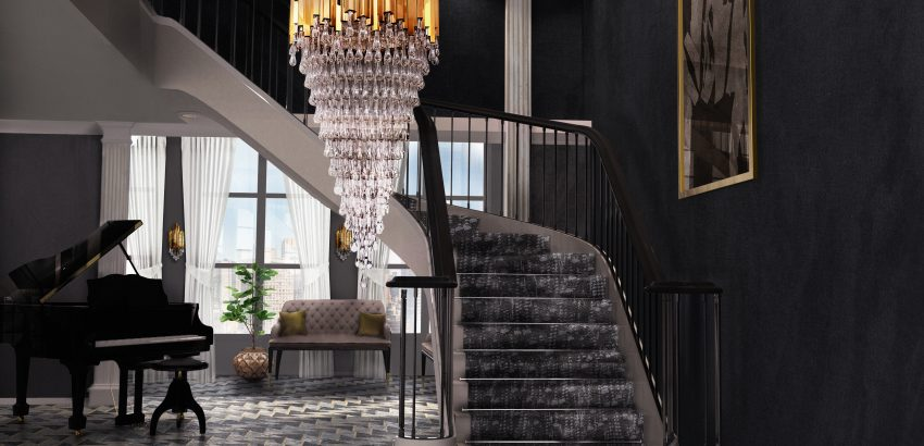 exquisite entryways Exquisite Entryways That You Will Love trump chandelier cover 04 1 850x410