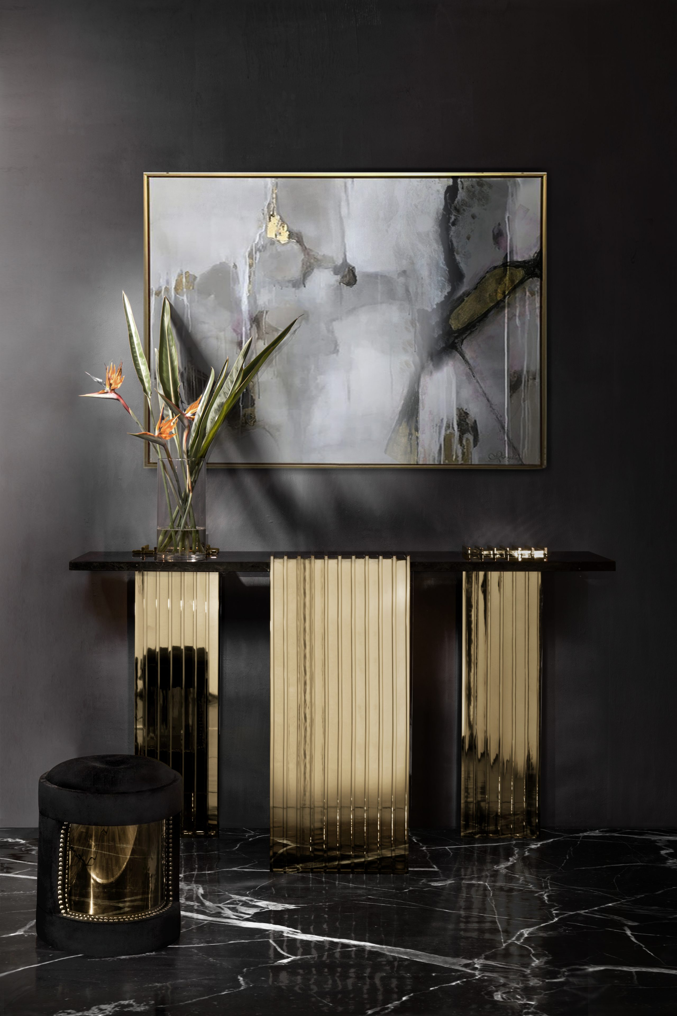 Luxury Interior Design - The Most Exquisite Console Selection