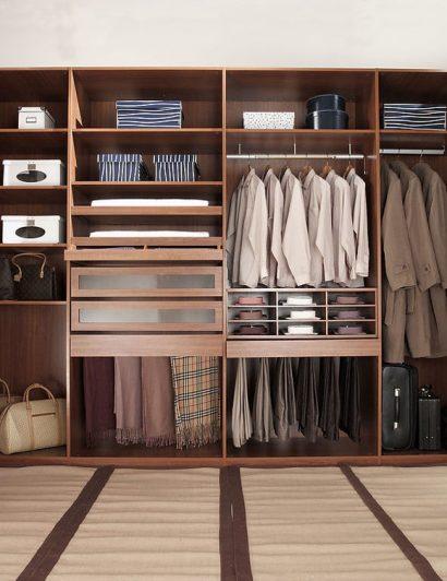 suit up Suit Up With The Best Closet Design Trends In 2021 walk in closet for men masculine closet design 410x532