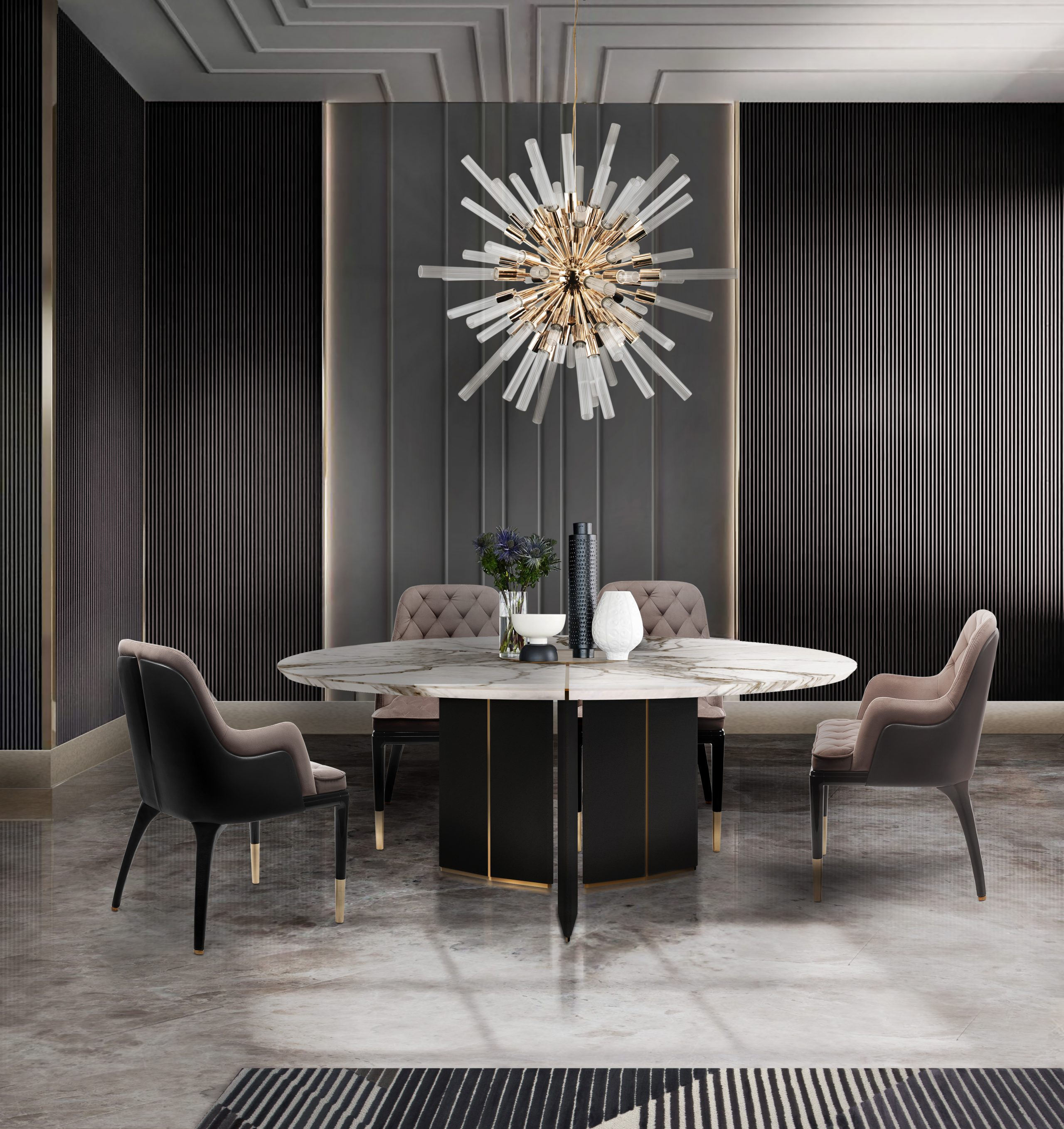 Luxury Dining Rooms by Luxxu
