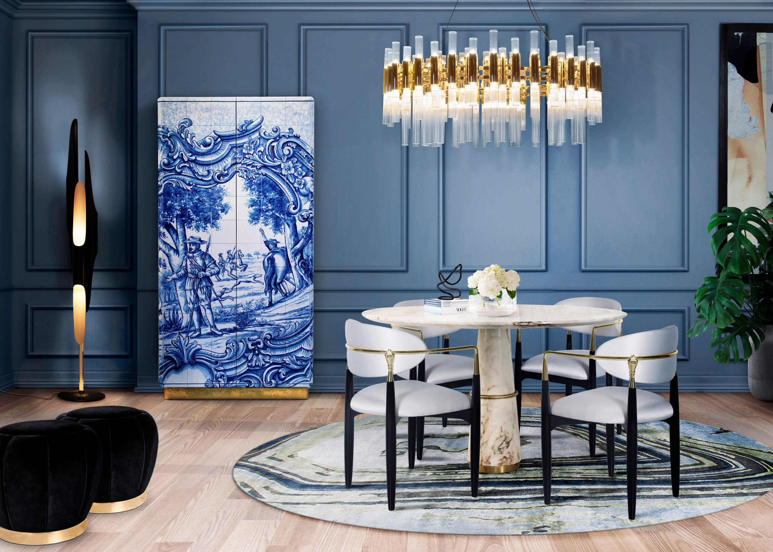 dining room essentials Dining Room Essentials by Luxxu waterfall suspension round cover 02