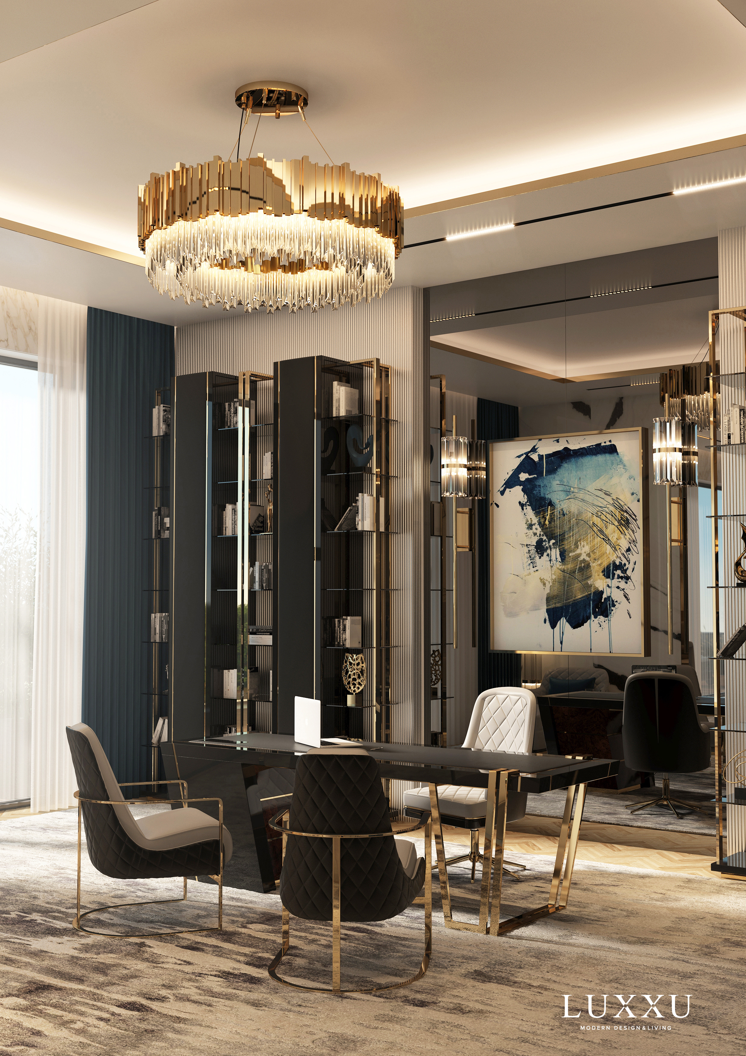 Admire luxxu's apartment in Moscow