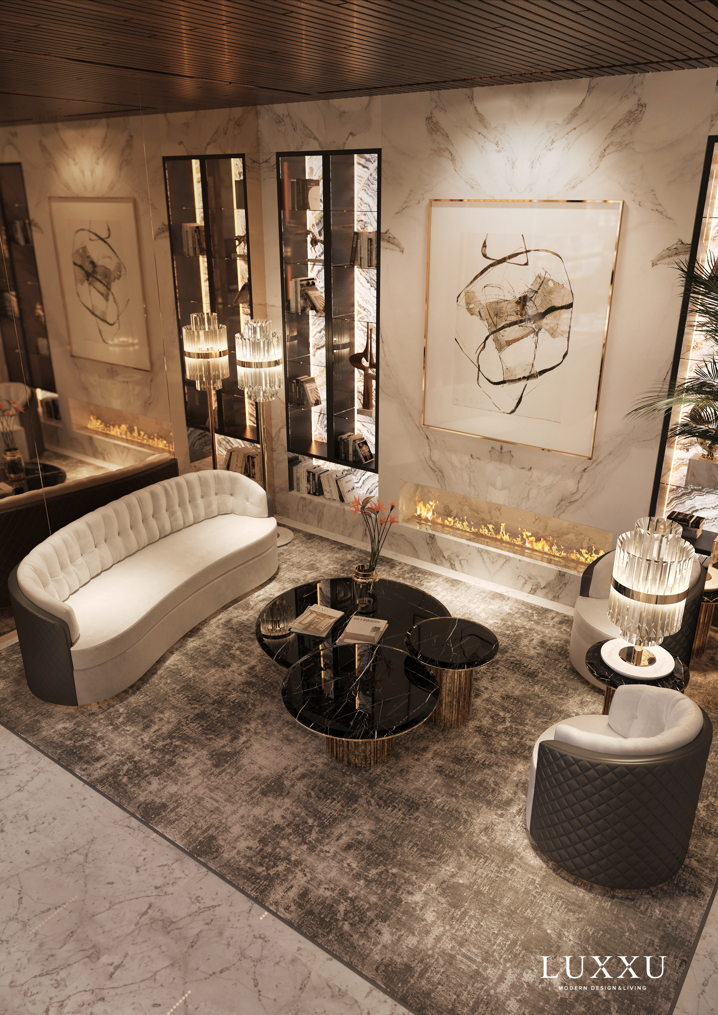The Heart of Moscow Receives Luxxu´s Newest Deluxe Apartment