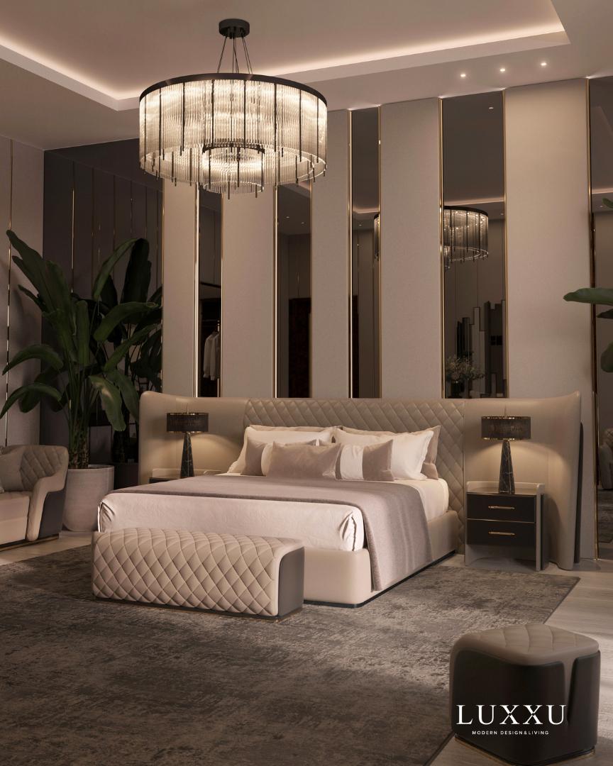bedroom design inspiration The Luxury Bedroom Décor