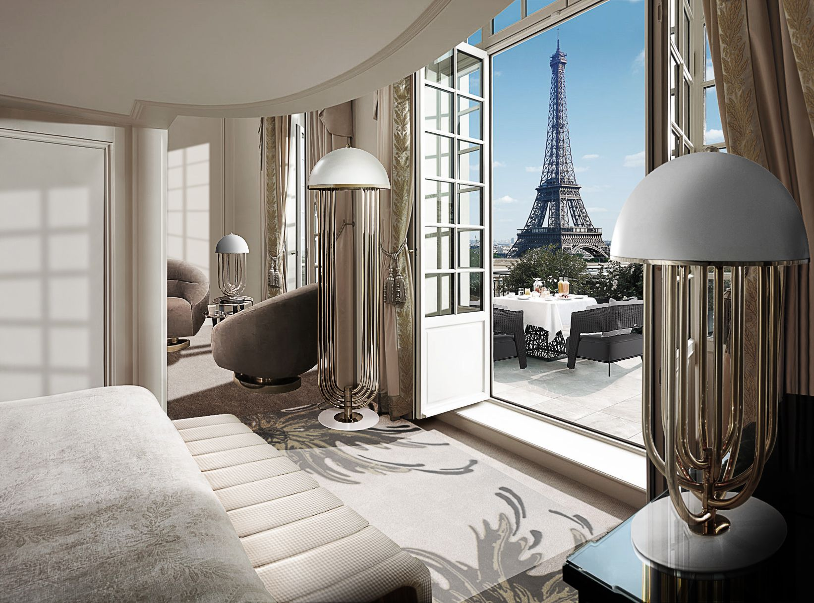 bedroom design inspiration- room with a view