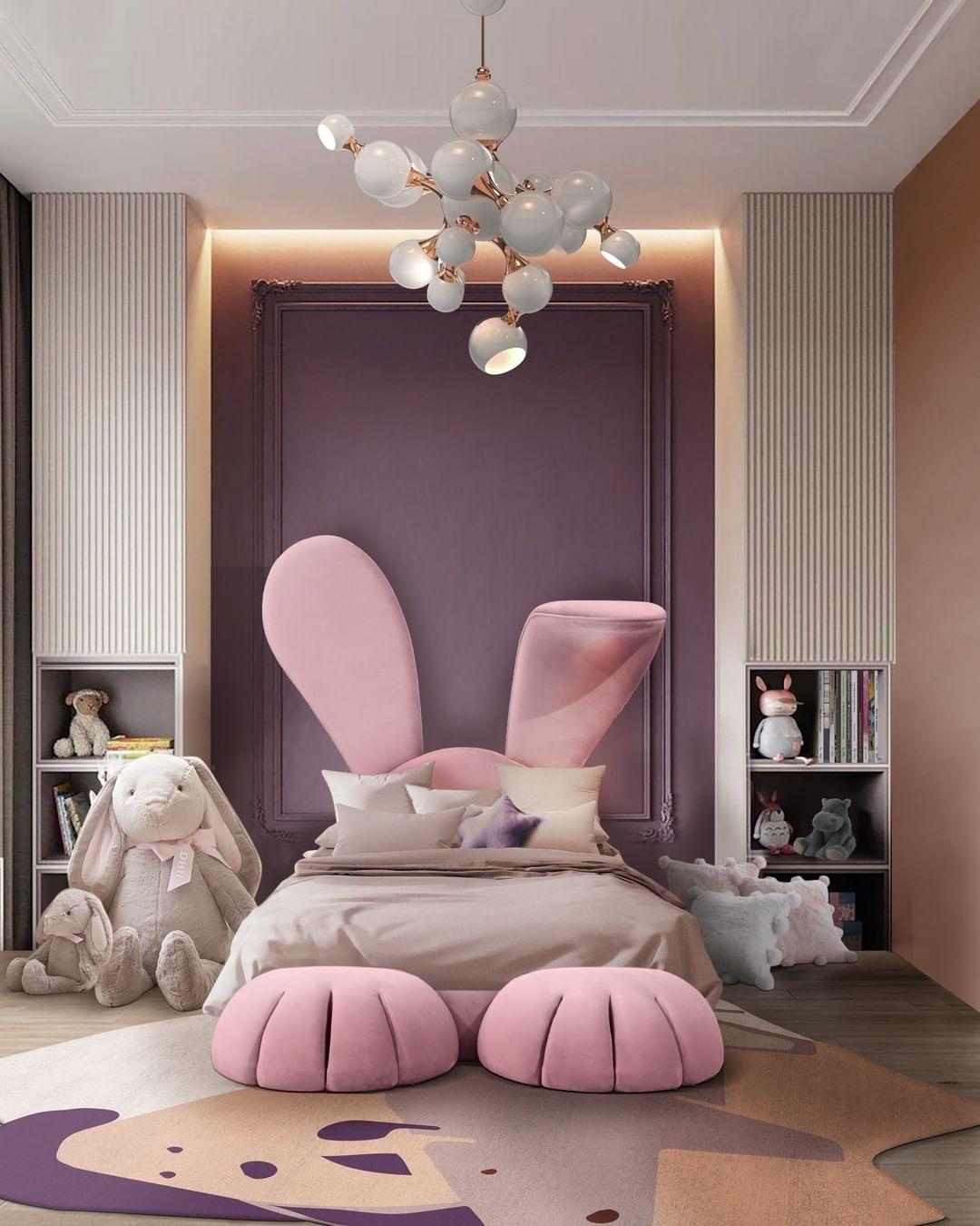 bedroom design inspiration- kids bed