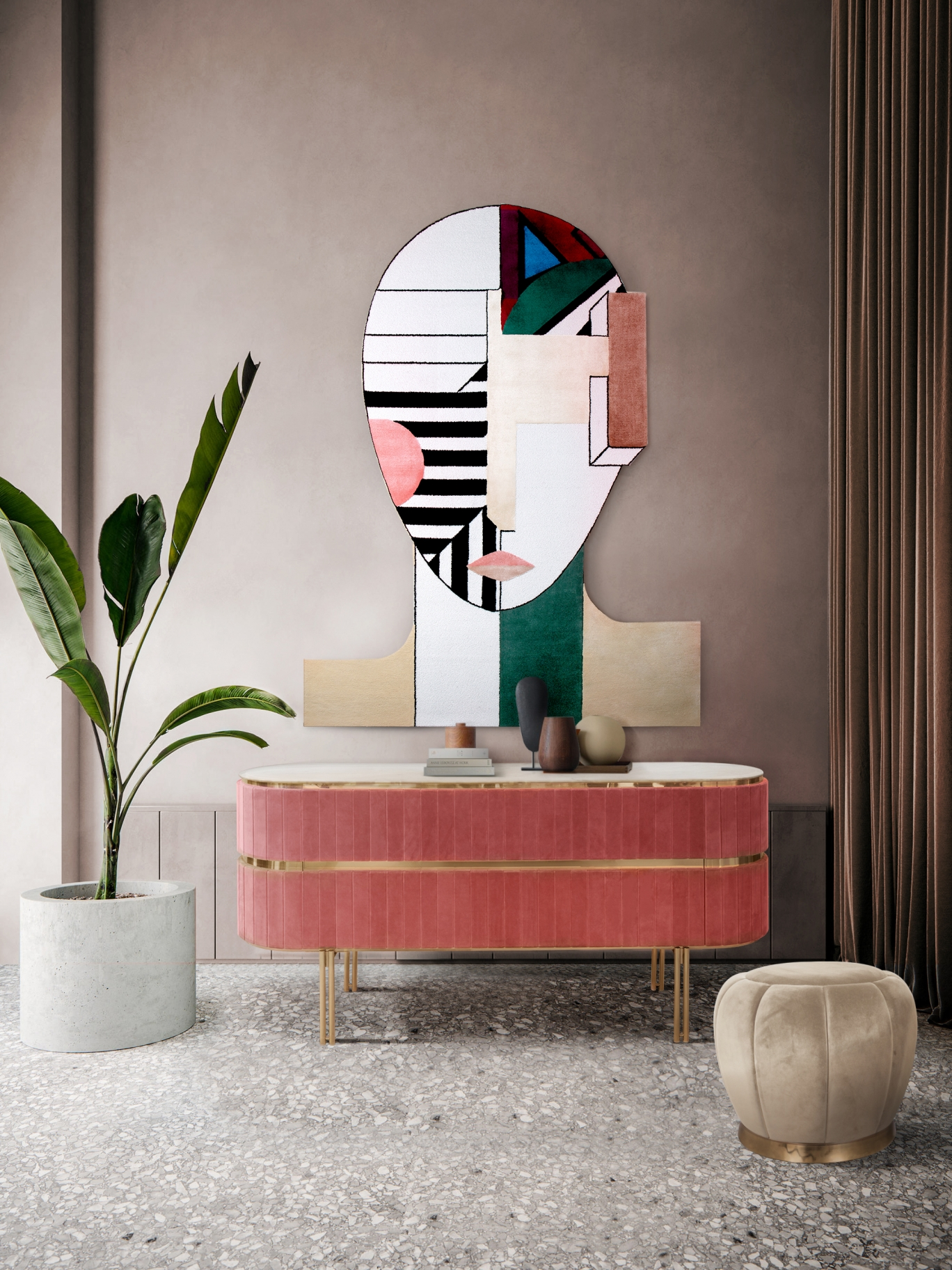 Hallway Decor for a Stunning Memorable Foyer hallway decorating Hallway decorating-fill the space with personality colorful hallway with oscar geometric rug 000000 rug society