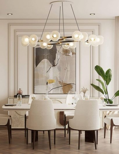 kitchen and dining room Kitchen And Dining Room Ideas That Will Astonish You covet house modern dining room 410x532