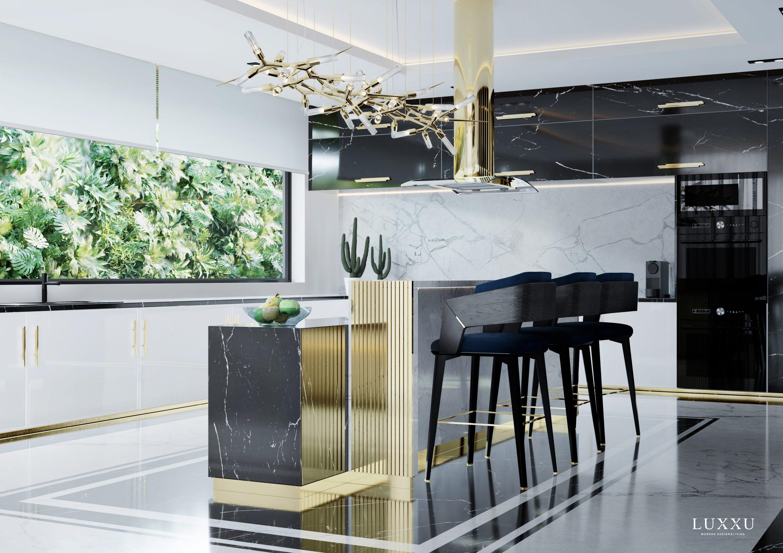 Modern Kitchen Design – Have A Taste Of Luxury With Luxxu