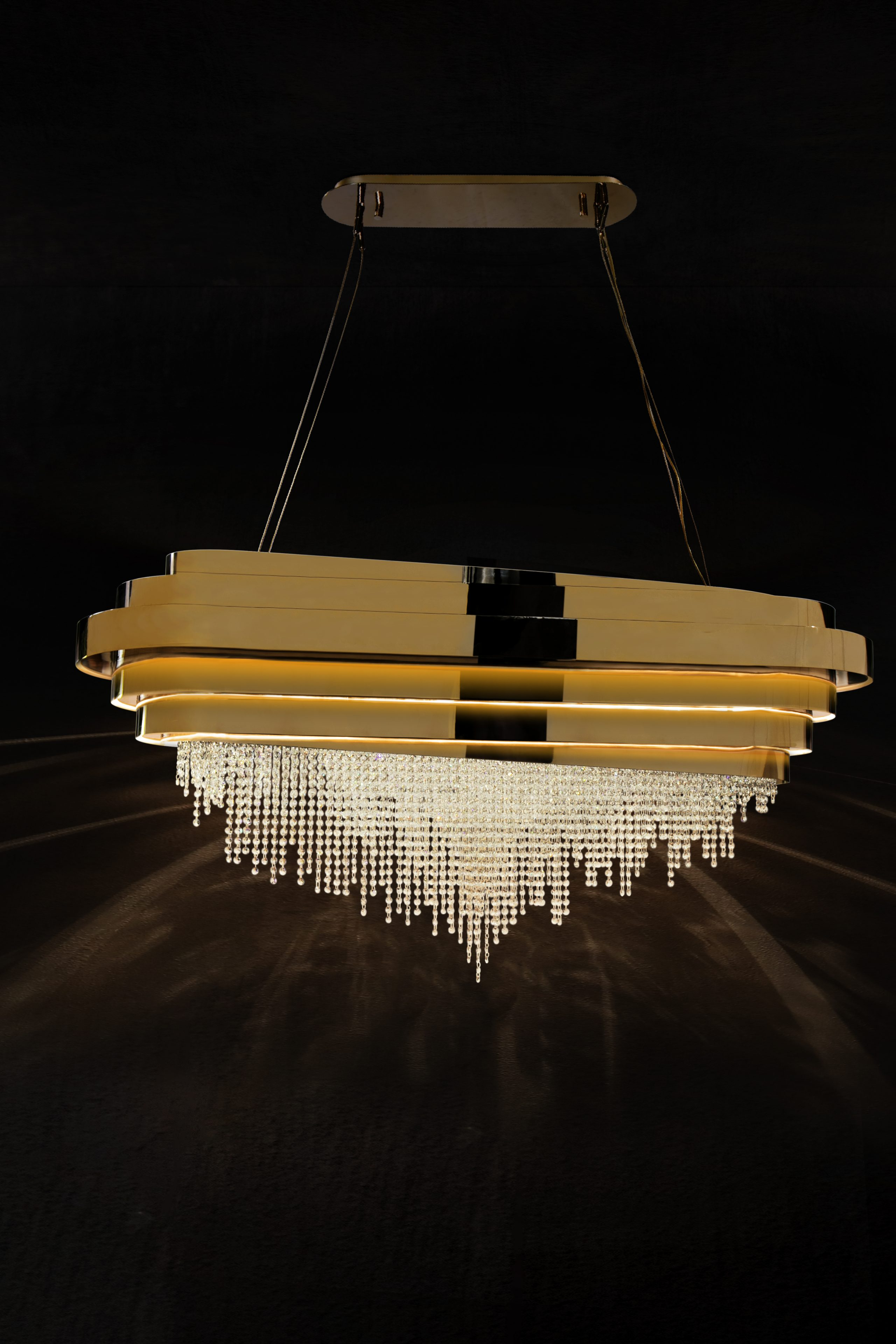 Suspension Lighting - The Sublime Curves Of Luxxu´s Snooker Suspensions