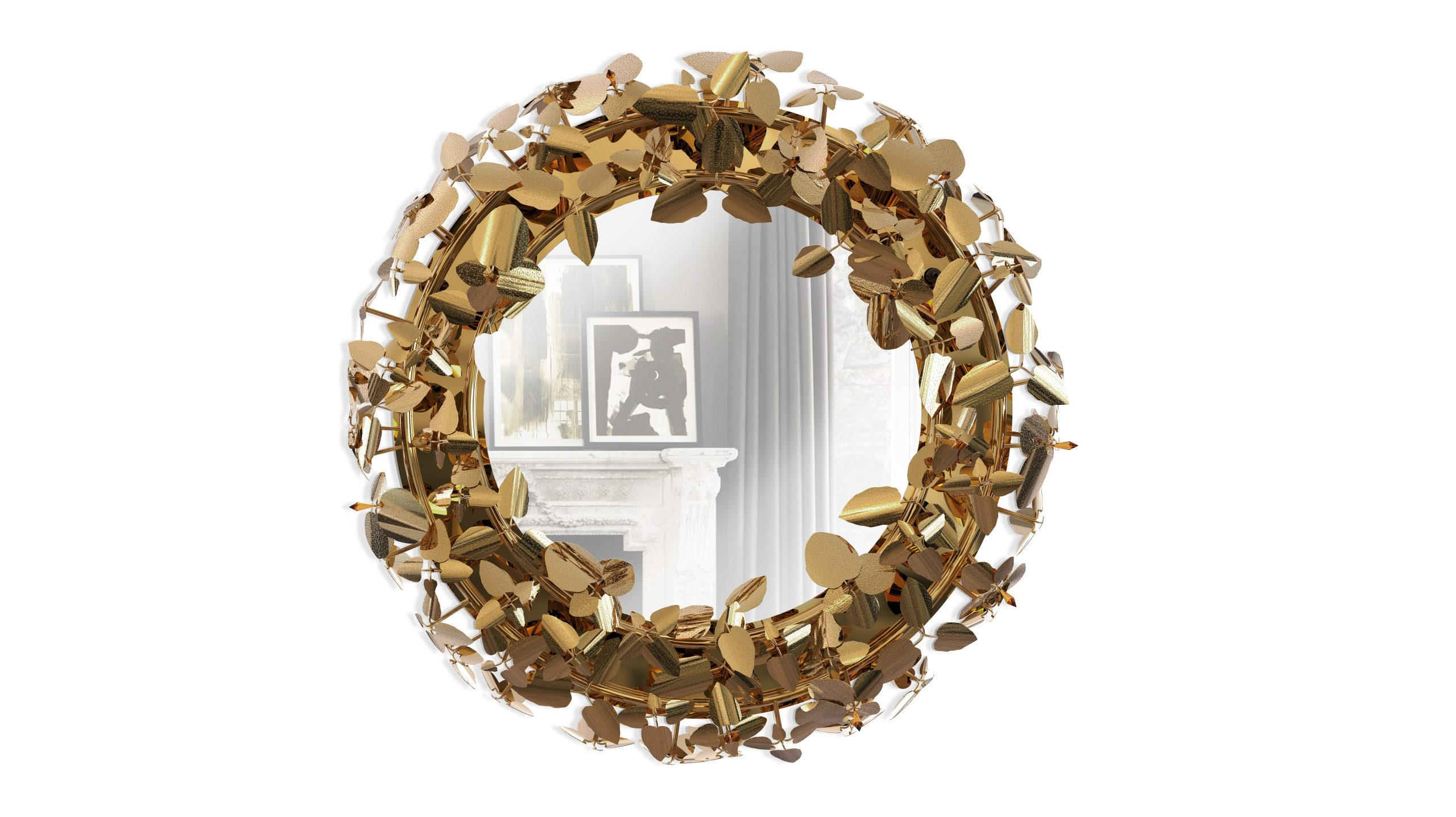 the mcqueen collection The McQueen Collection – Where Lighting And Artwork Come Together mcqueen wall light mirror 01