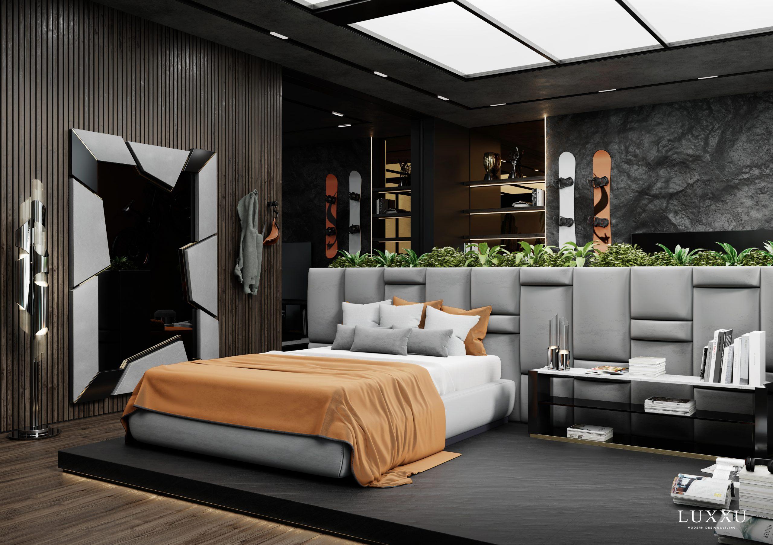Bedroom Ambiences with Luxury Design Brands