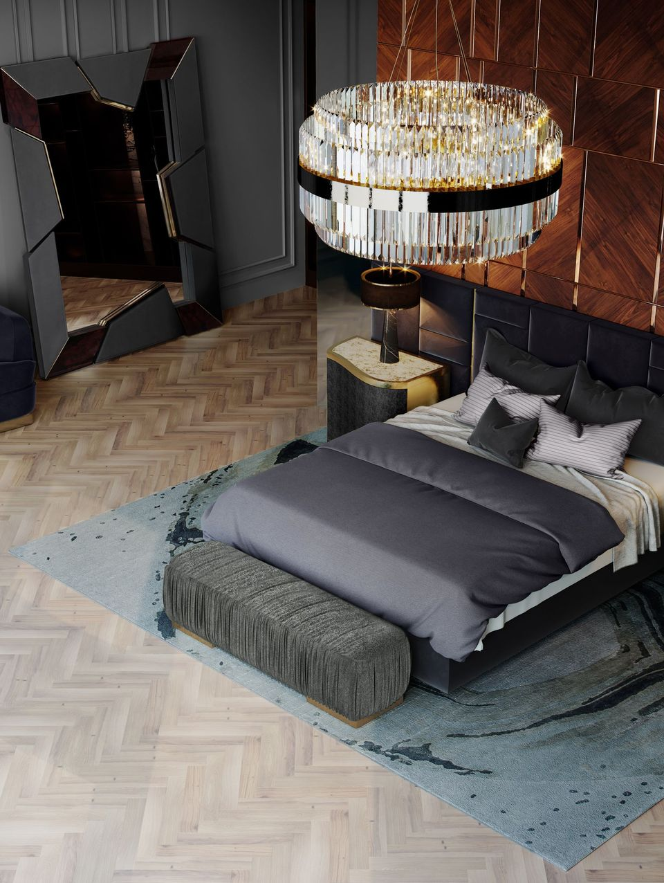 Modernize and upgrade your bedroom decoration