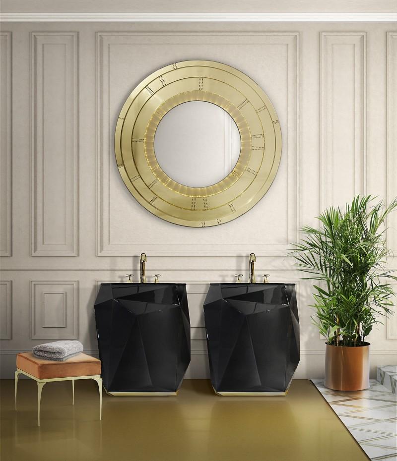 rich and beautiful bathroom décor