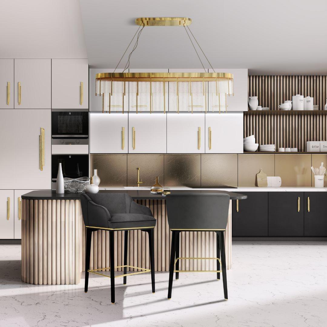 Pullcast's Skyline Cabinet Pulls Dining room ambiences