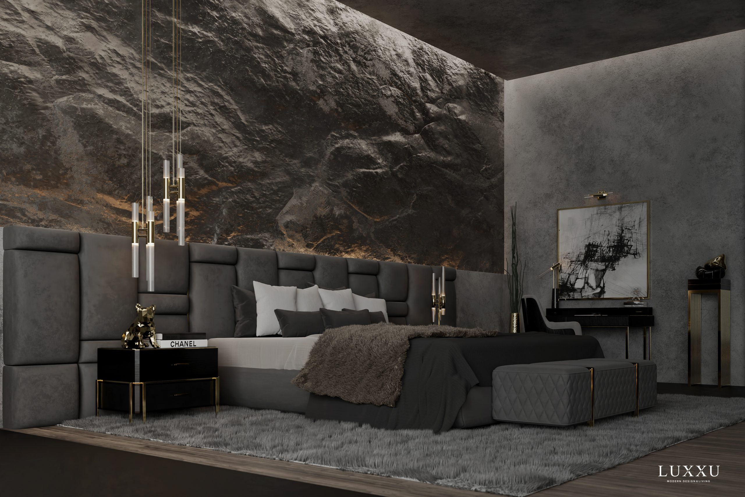 Master Bedroom Design - A Closer Look At Luxxu´s Mont Blanc Chamber