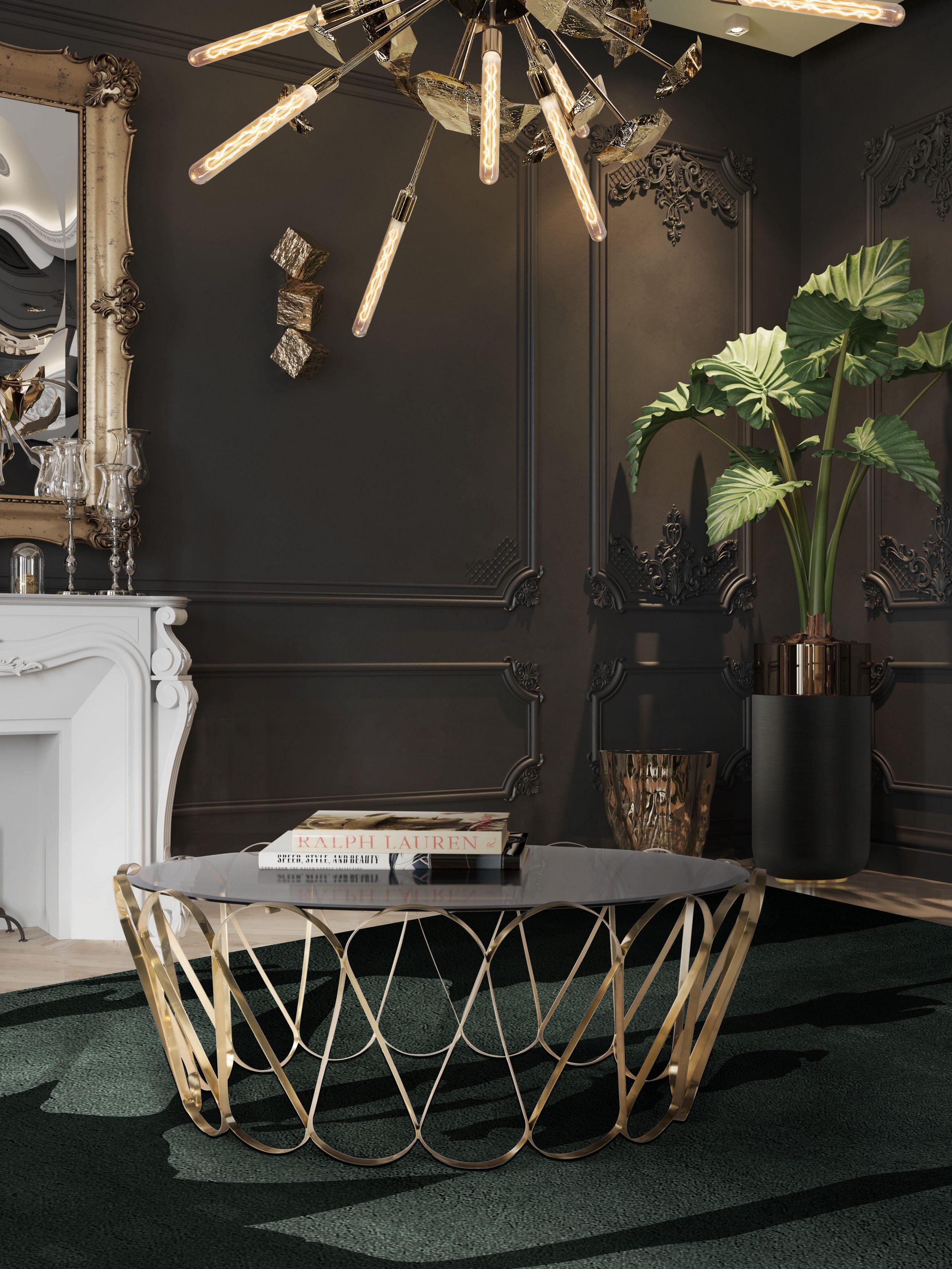 modern living room décor