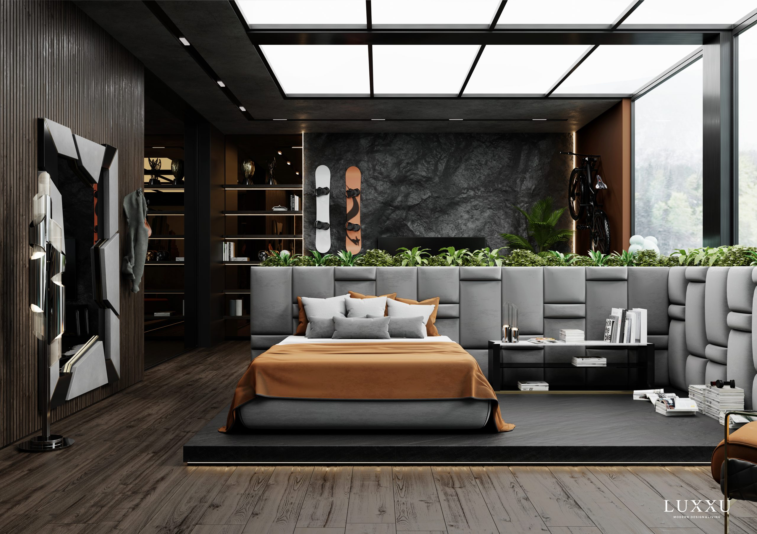 Luxury Teenage Bedroom - Youth And Exquisiteness Combined By Luxxu