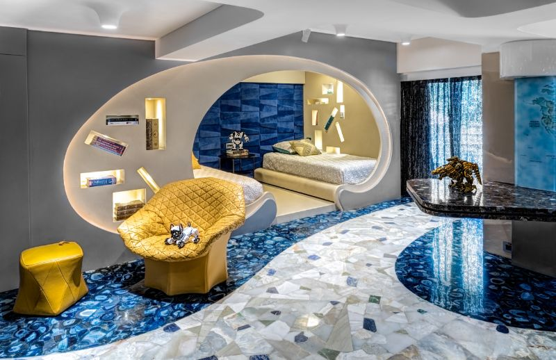 Luxury Apartment In Mumbai - A Design Project By ZZ Architects