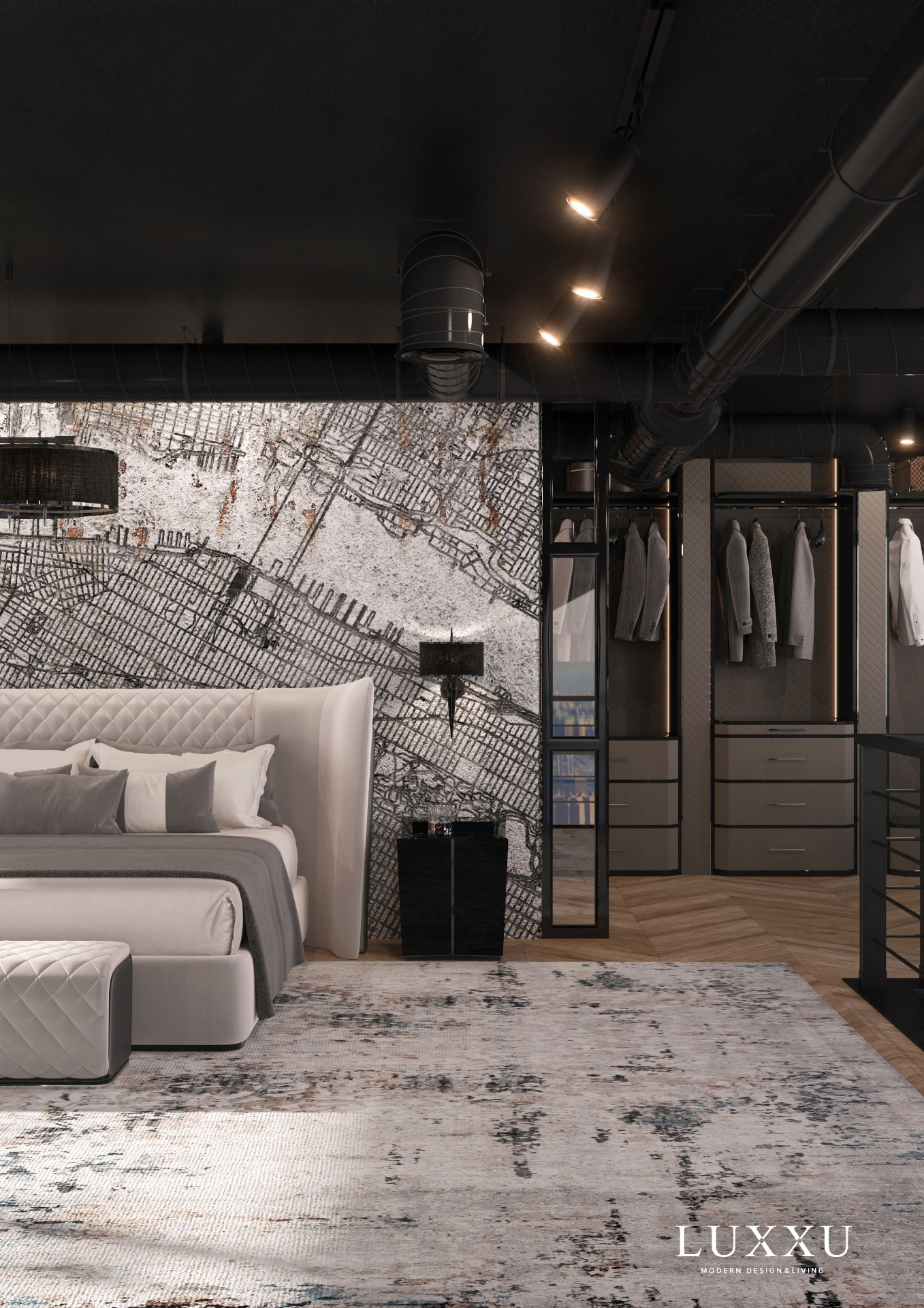 Modern Bedroom Design - Contemporary Comfort In The Big Apple