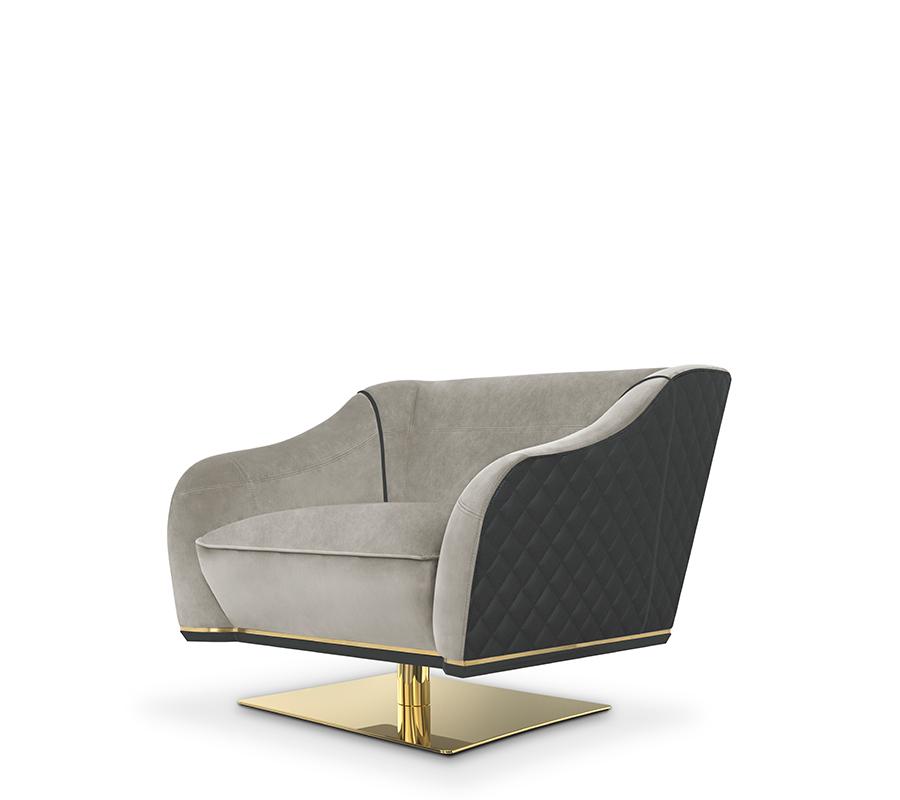 Saboteur Swivel Single Sofa